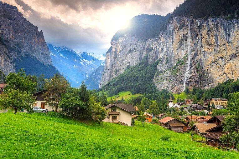 Lauterbrunnen in Zwitserland.