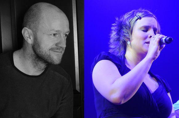 Stijn Sterckx en Hannelore Bedert.