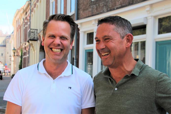 Bart Aarts en Peter Mennes - foto Willem Jongeneelen