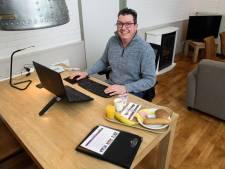 Deldense hotelkamer als werkplek: 'Thuis is er simpelweg te veel afleiding'