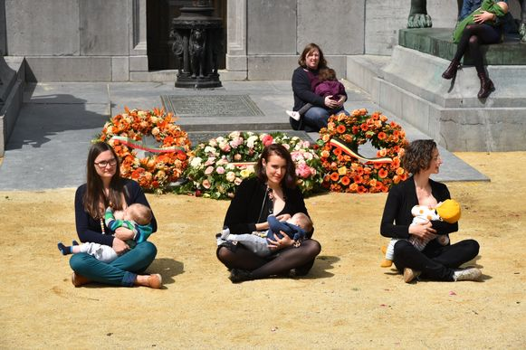 Borstvoedingsactie Brussel