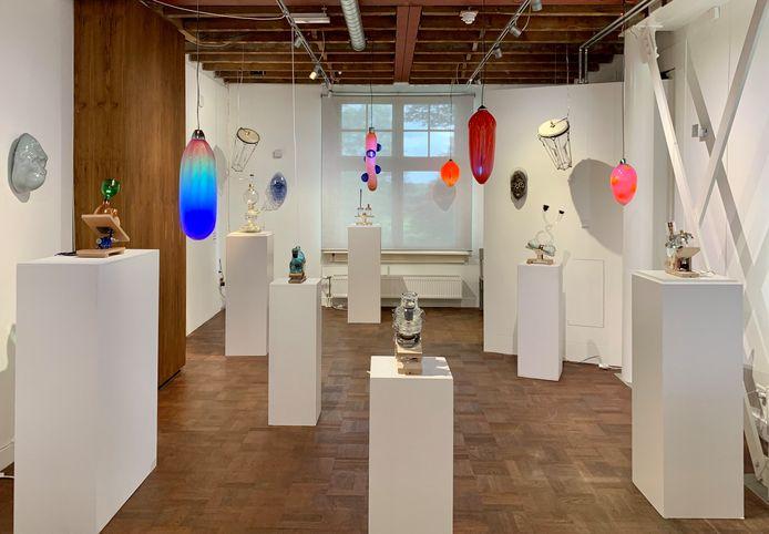 Back to the jungle, de nieuwe expositie van het Nationaal Glasmuseum in Leerdam.