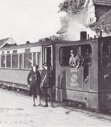 Stukje originele rails Zutphen-Emmerikse tram terug in Baak