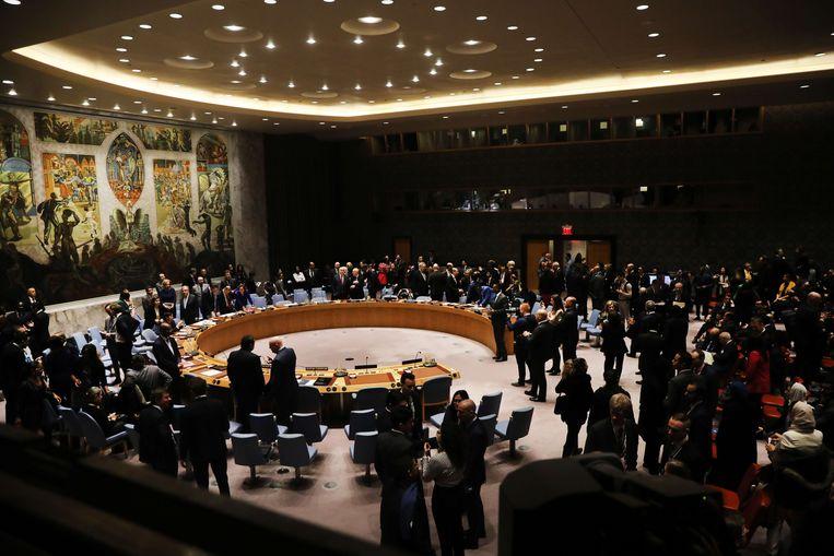 Zitting van de VN-Veiligheidsraad.