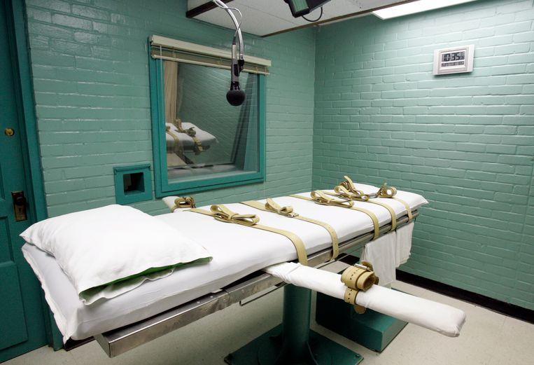 De executiekamer van Huntsville.