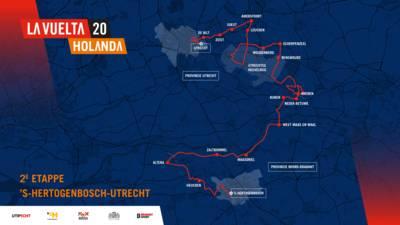 Deze West-Brabantse plaatsen doet de Vuelta allemaal aan in 2020