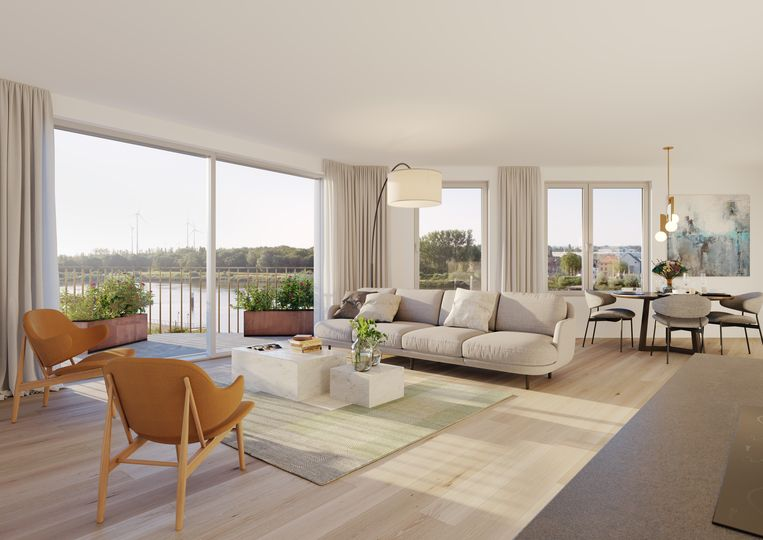 Grote troef : 80% van de appartementen is energieneutraal.
