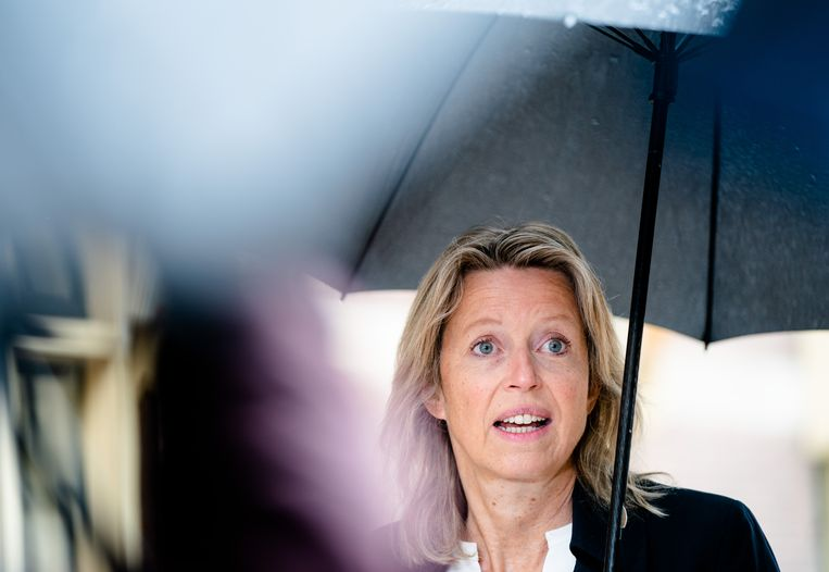Minister Kajsa Ollongren van Binnenlandse Zaken. Beeld ANP
