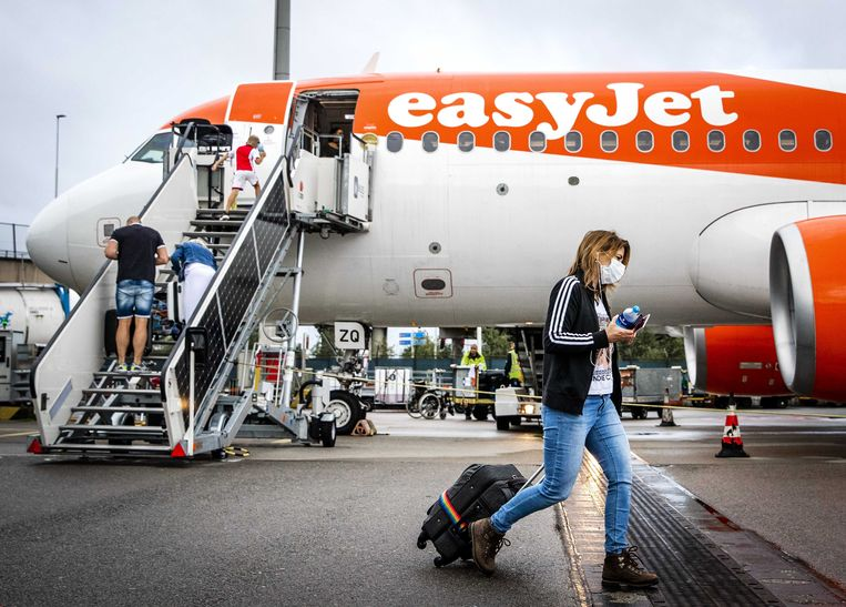Easyjet zit pas op 30 procent van de capaciteit van het geplande vluchtschema, aldus Lundgren. Beeld EPA