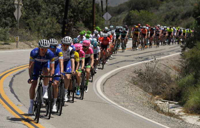 Een archieffoto uit de Ronde van Californië.