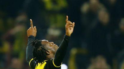 God in Duitsland: Batshuayi trapt met vijfde treffer in amper drie matchen Dortmund in extremis naar zege (en laat meteen van zich horen op Twitter)