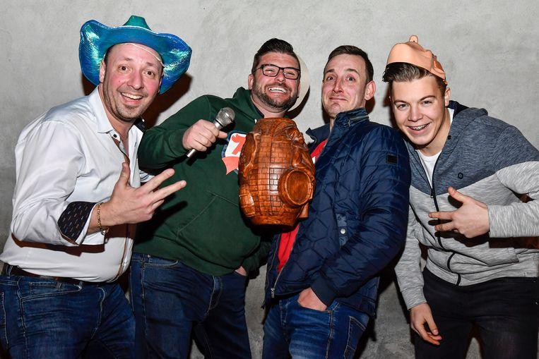 Dany Van Steen, Montell Pieters, Tom Verhulst en Didier Viette vormen de AMBI Brothers.