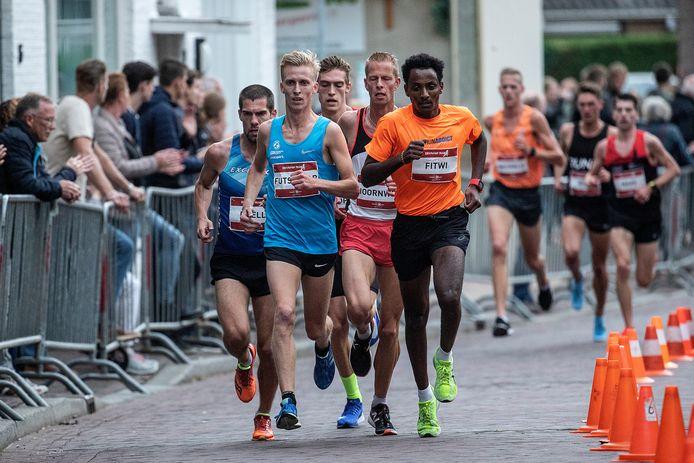 Beeld van de Kramp Run in 2018, toen Frank Futselaar won.
