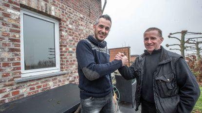 David en buren zetten achtervolging in op inbreker, Franse politie kan hem dag later via hun beschrijving inrekenen