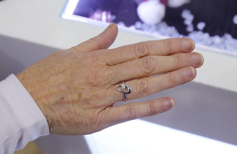 De ringen werden samengesmolten tot een nieuw juweel.