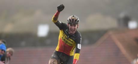 Fin d'une longue série: van der Poel battu par les Belges à Renaix
