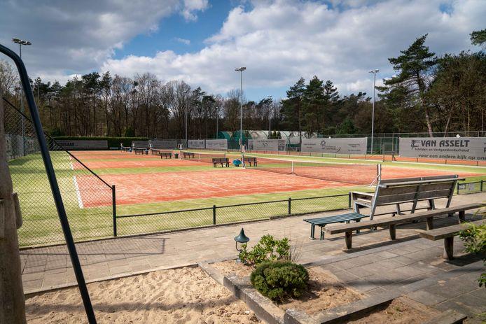 Het tennispark van Polysport, waar Tennisvereniging Dieren blijft spelen.