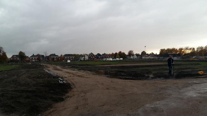 De locatie voor woningbouw in plan Dillenburg in Drunen.