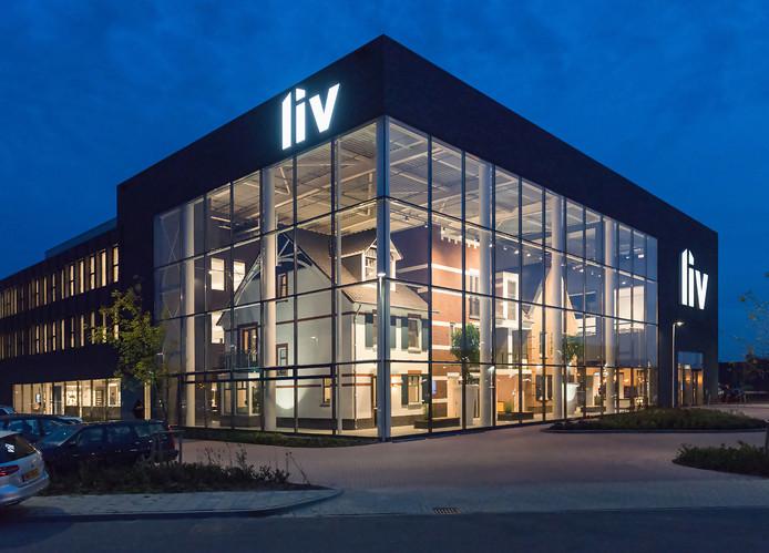 4. LIV Woonbelevingscentrum/kantoor KlokGroep aan de Verlengde Energieweg Architectenbureau: Bijl Architecten.  Opdrachtgever: KlokGroep.