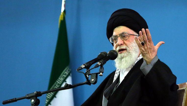 Ayatolla Ali Khamenei Beeld EPA