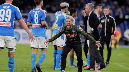 Napoli houdt punten thuis tegen Hellas Verona, Mertens dicht bij doelpuntenrecord Maradona