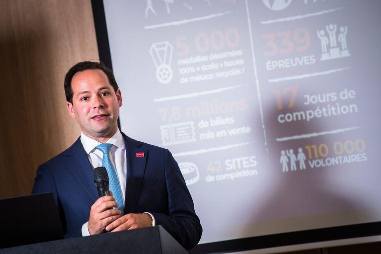 Pierre-Charles Vanneste, de project manager van Eventeam, gaf meer uitleg over de ticketverkoop die aanstaande donderdag begint.