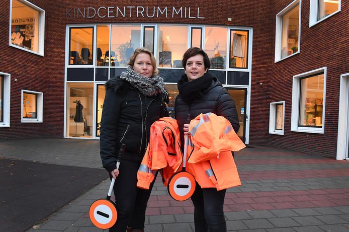 Mecheliene van Boxtel (links) en Sandra Toenders, initiatiefnemers van 'de brigadierloze dagen'.