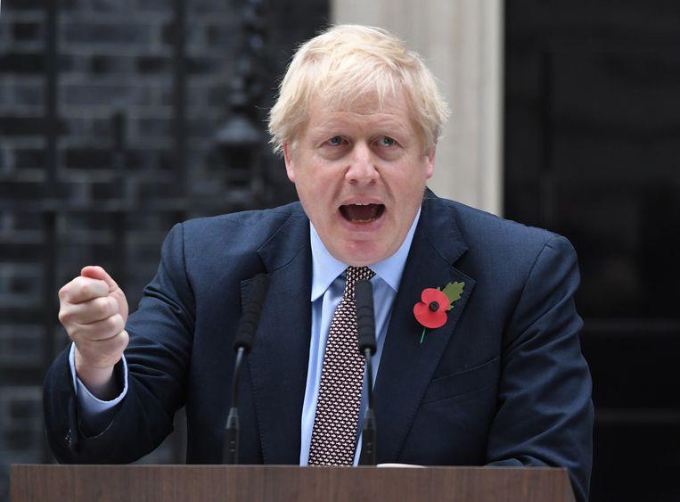 Niemand wil deze verkiezingen, maar ze waren onvermijdelijk, vertelde Johnson vanmiddag aan de deur van Downing Street 10.