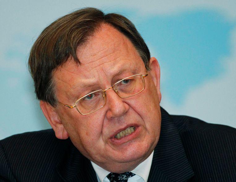 Nout Wellink, voormalig president van de Nederlandsche Bank, de centrale bank van Nederland.