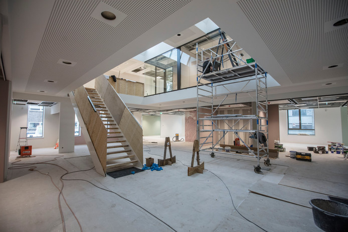 Het gemeentehuis in Son en Breugel wordt uitgebreid.