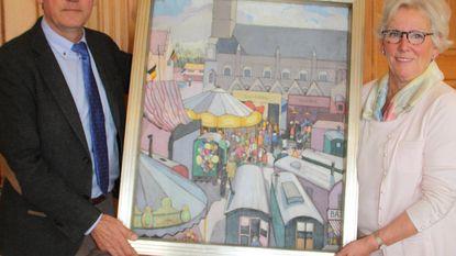 Stad koopt schilderij van Jane Carion uit 1925