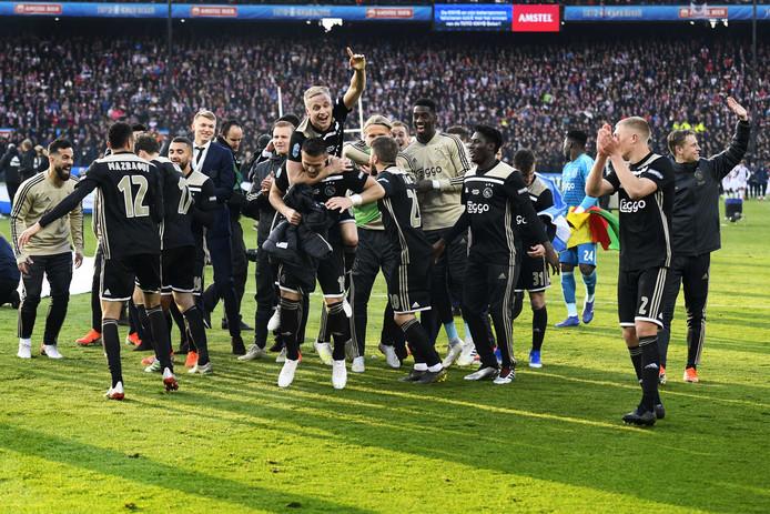 Ajax won afgelopen seizoen de beker door in de finale Willem II te verslaan.