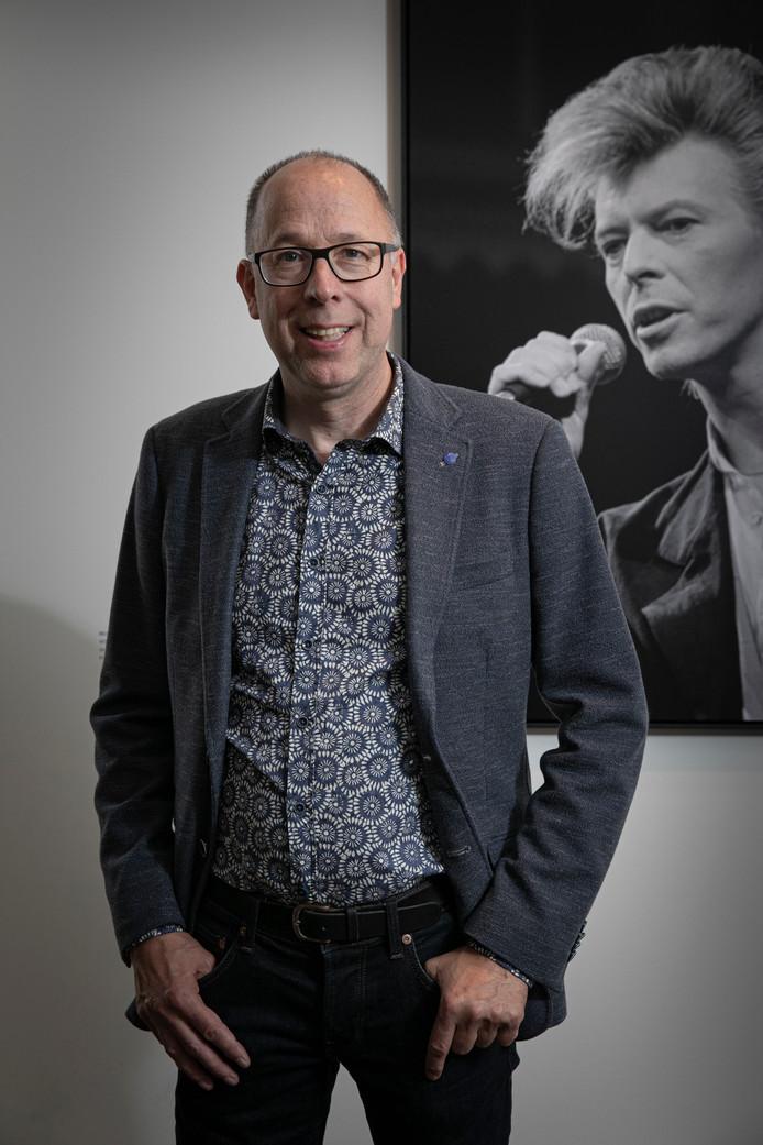 Bernard Rübsamen ruilde in de jaren 80 Zutphen in voor Amsterdam. Maar nu is hij weer terug in de Achterhoek. ,,Ik werd verliefd op een vrouw. En ja, die woonde inZutphen.''