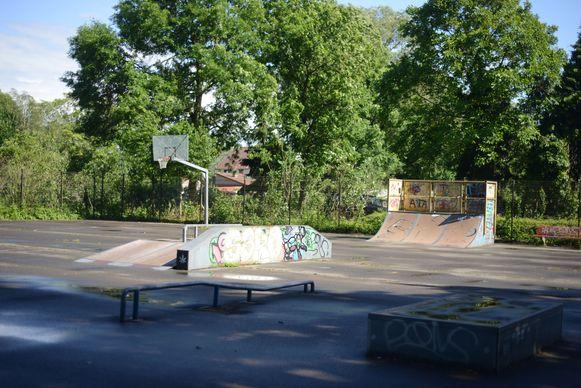 Skatepark 't Fort in Wilsele.