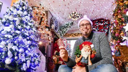 """60.000 lichtjes en 22 kerstbomen, maar Bredens Kersthuis opent voor het laatst in vol ornaat: """"Binnen zit ik aan mijn plafond"""""""