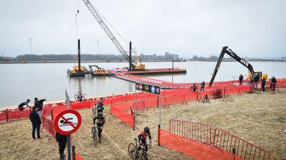 Antwerpen telt af naar Belgisch Kampioenschap veldrijden met passage over de Schelde