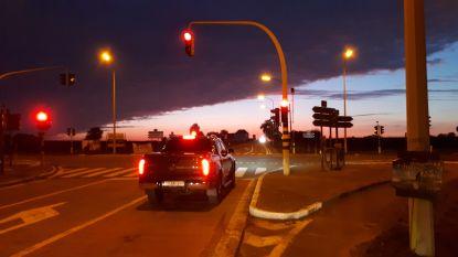 N8 tussen Ophasselt en Brakel drie uur afgesloten voor reconstructie ongeval