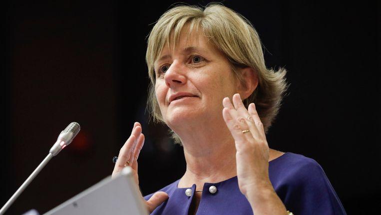 Spoorbaas Sophie Dutordoir (53) doet vandaag voor de Kamer haar toekomstplannen met de NMBS uit de doeken.