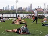 Gorinchem denkt na over aanpak New York: Cirkels in het park om afstand te houden?