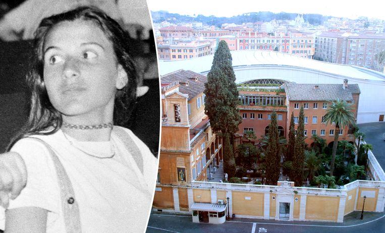 Emanuela Orlandi zou begraven liggen op het Campo Santo dei Teutonici e dei Fiamminghi, volgens een anonieme briefschrijver.
