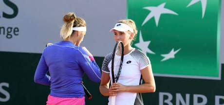 Première finale de l'année pour Elise Mertens et Aryna Sabalenka