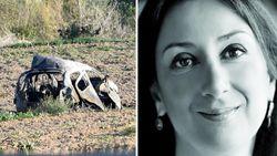 """""""Maltese journaliste in haar wagen vermoord met Semtex"""""""