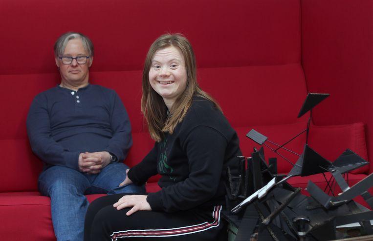 Gitte Wens en haar vriend Gert Wellens
