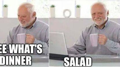 'Hide the pain Harold' (74) werd per ongeluk wereldberoemd als meme (en daar verdient hij nu fors geld mee)
