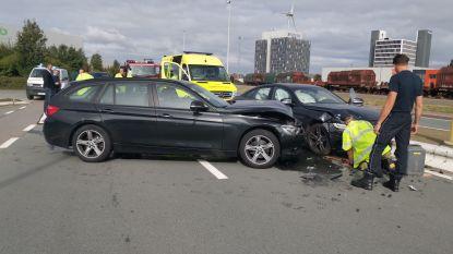 Twee gewonden na crash in Antwerpse haven