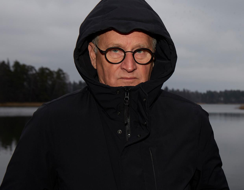 Schrijver Herman Koch in Finland.