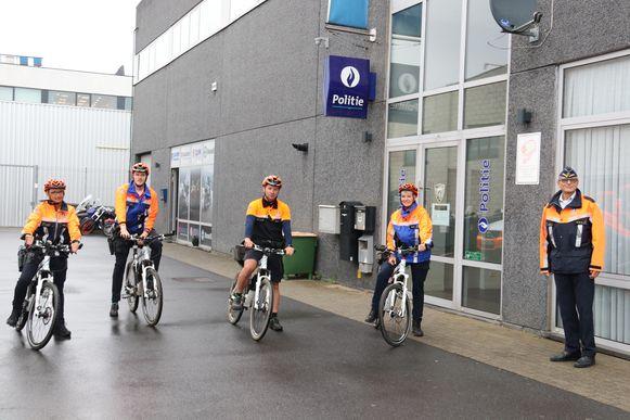 De fietspatrouilles trekken vanaf vandaag de straat op om te sensibiliseren.