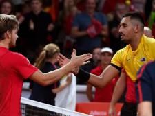 Kyrgios jouera contre la Belgique en Coupe Davis