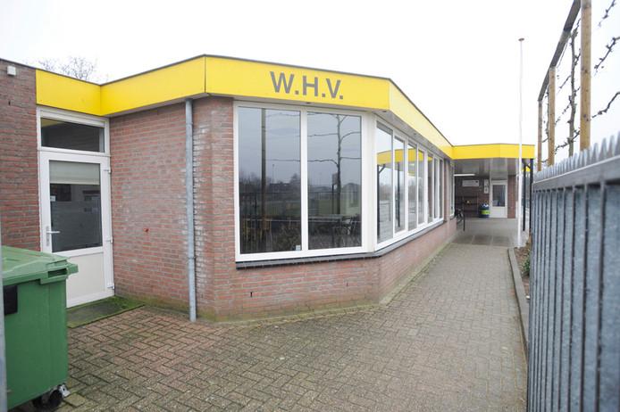 Kantine van voetbalclub WHV.