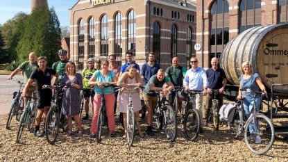Brouwerijpersoneel fietst 20.000 km van en naar werk